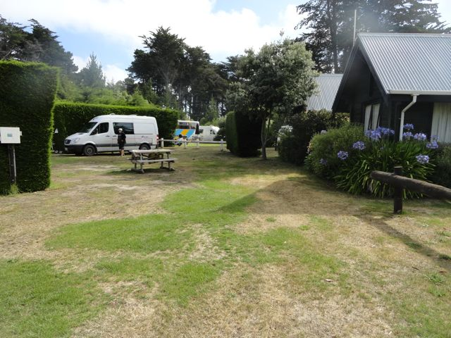 Twizel Lake Tekapo Christchurch Neuseeland: lake tekapo motor camp