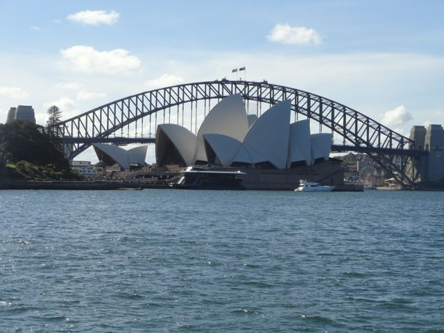 Sydney, Opera und Harbour Bridge