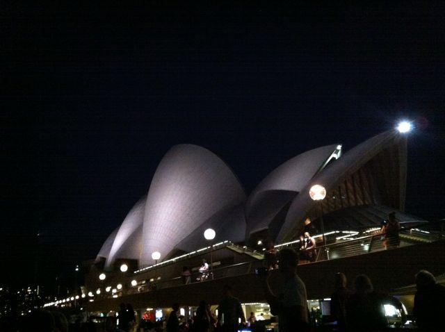 Opera House am Abend