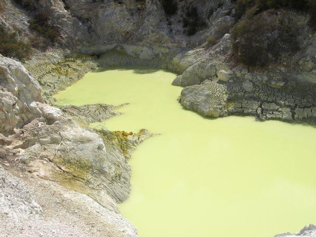 Devils Bath Wai-o-Tapu Thermal Area Neuseeland