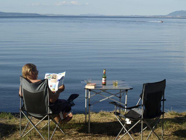 Relaxen am Lake Taupo 3919